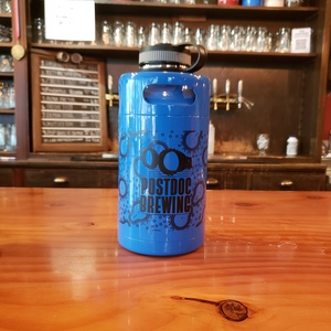 NEW LIMITED RELEASE - BLUE Postdoc Stainless Steel Growler - 64oz
